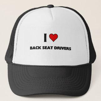 Fahrer der Liebe I hinterer Sitz Truckerkappe