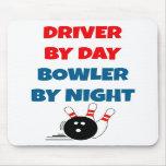 Fahrer durch TagesWerfer bis zum Nacht Mousepads