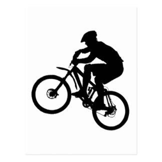 Fahrrad-Common-Gruppe Postkarte