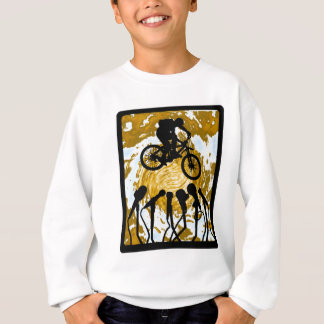 Fahrrad dreimal sweatshirt