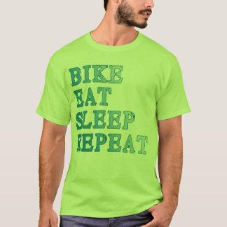 Fahrrad, essen, schlafen, wiederholen Produkte T-Shirt