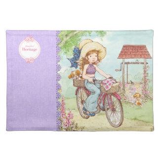 """""""Fahrrad-Fahr"""" Erbstoff-Tischset Sarahs Kay Tischset"""