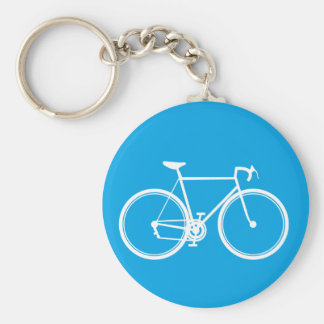 Fahrrad-Fahrräder zur Zukunft Schlüsselanhänger