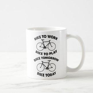 Fahrrad-für immer - cooles Radfahren Kaffeetasse