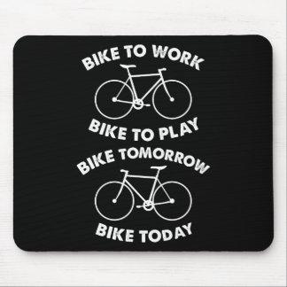 Fahrrad-für immer - cooles Radfahren Mousepad