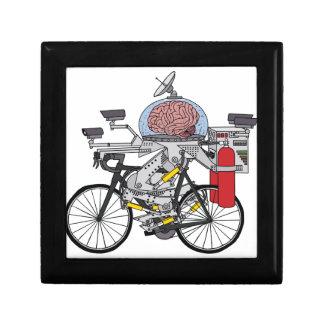 Fahrrad-Gehirn (Radfahrer des Jahres 3000) Geschenkbox