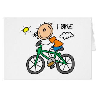 Fahrrad-Geschenk Karte