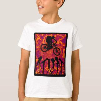 Fahrrad-glattes Gewebe T-Shirt