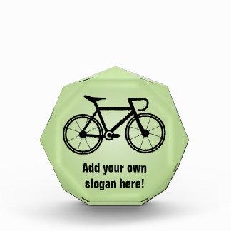 Fahrrad-Grafik mit Ihrem Text - ein Radfahren Auszeichnung