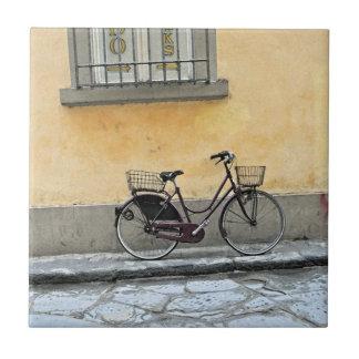 Fahrrad in Florenz Fliese