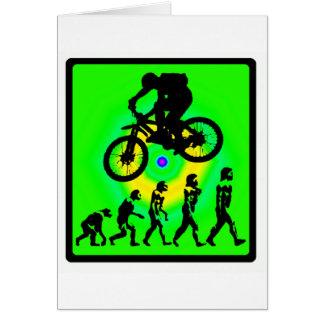 Fahrrad-kahles Schreien Karte