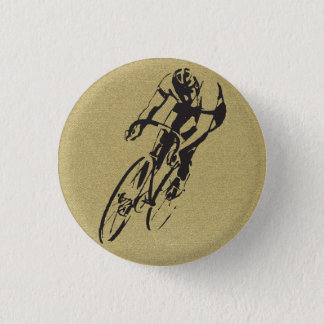 Fahrrad-Laufen Runder Button 2,5 Cm