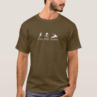 Fahrrad-Laufpaddel T-Shirt