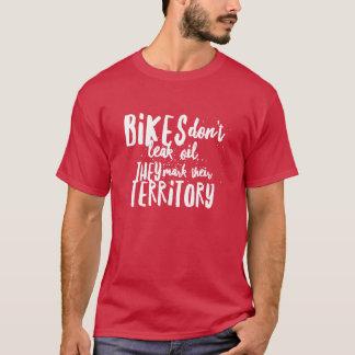 Fahrrad lecken nicht Öl-Radfahrer-Shirts T-Shirt