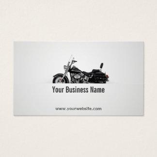 Fahrrad-Motorrad-Leistung Visitenkarte