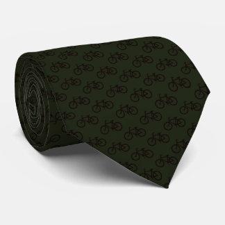 Fahrrad-Muster Krawatte