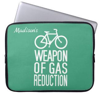 Fahrrad-Name- u. -farblaptophülsen Laptopschutzhülle