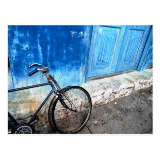Fahrrad-Parken Postkarte
