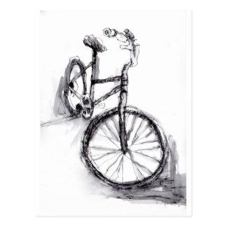 Fahrrad Postkarte