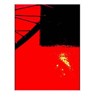 """Fahrrad-Rad zwei"" JTG Kunst-Postkarte Postkarten"