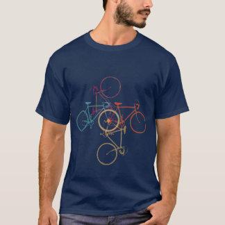 Fahrrad - radfahrend - Radfahren T-Shirt