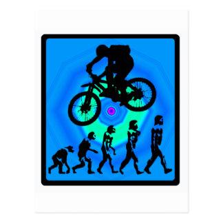 Fahrrad-Staats-Bergwerke Postkarte