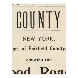 Fahrrad-Straßen in New York und in Connecticut 13 Postkarte