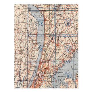 Fahrrad-Straßen in New York und in Connecticut 4 Postkarte