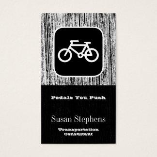 Fahrrad-Symbol Visitenkarte