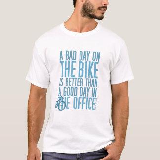 Fahrrad-T-Shirt - ein schlechter Tag im Büro… T-Shirt