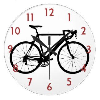 Fahrrad-Uhr - Zyklus-Fahrrad-Wanduhr Große Wanduhr