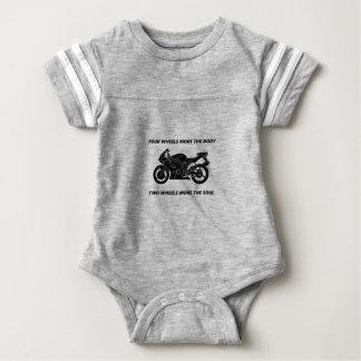 Fahrrad- und Körper-Soul Baby Strampler