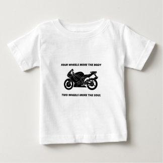 Fahrrad- und Körper-Soul Baby T-shirt