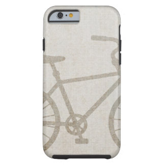 Fahrrad-Vintages Sport-FriedensLiebe-Schicksal Tough iPhone 6 Hülle