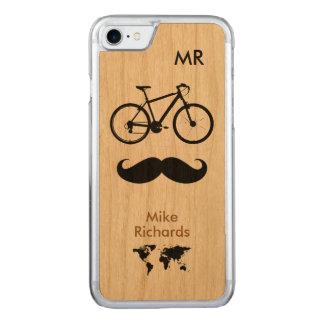 Fahrrad. Zweiräder. Fahrrad. cool Carved iPhone 8/7 Hülle
