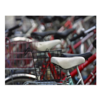 Fahrrad-Zyklus-radfahrende radfahrenfahrrad-Gestel Postkarte