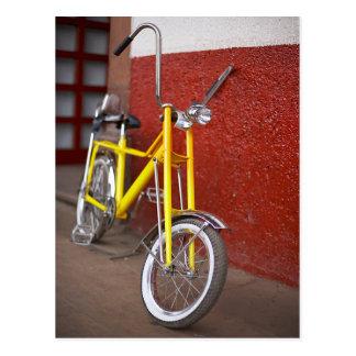 Fahrrad-Zyklus-radfahrender Postkarte
