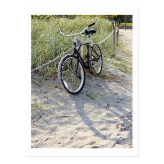 Fahrrad-Zyklus-radfahrendes radfahrenMiami Beach Postkarte