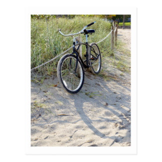 Fahrrad-Zyklus-radfahrendes radfahrenMiami Beach Postkarten