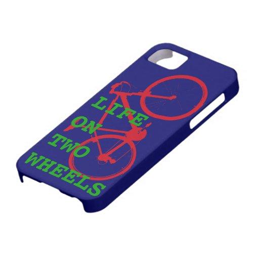 Fahrräder - Leben auf zwei Rädern iPhone 5 Schutzhülle