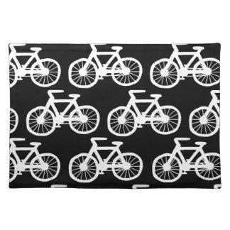 Fahrräder Stofftischset