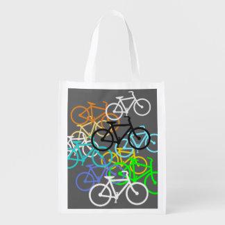 Fahrräder Wiederverwendbare Einkaufstasche
