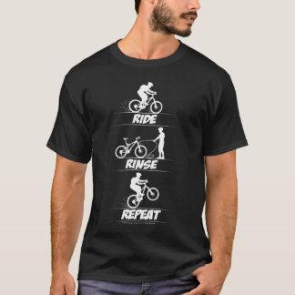 Fahrspülen-Wiederholungs-Shirt T-Shirt