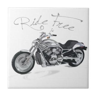 Fahrt geben Harley Davidson frei Kleine Quadratische Fliese