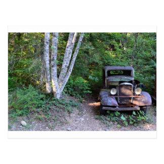 Fahrzeug der Vergangenheit Postkarte