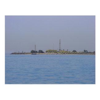 Failaka Inselküstenlinie, Kuwait Postkarte