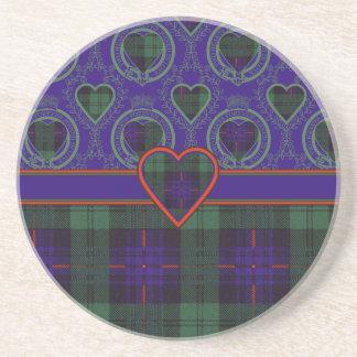 Fairbairn Clan karierter schottischer Kilt Tartan Getränkeuntersetzer