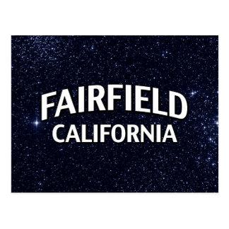 Fairfield Kalifornien Postkarte