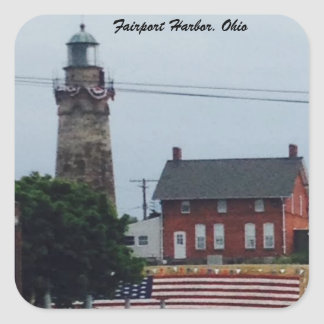 Fairport Hafen, Ohio 4. von Juli-Foto Aufkleber