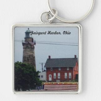 Fairport Hafen, Ohio 4. von Juli-Foto Schlüsselanhänger
